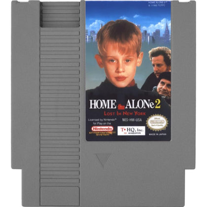 Home Alone 2: Lost in New York - Authentic NES Game Cartridge
