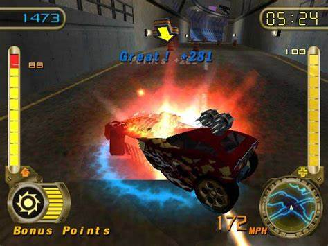 Hot Wheels: Velocity X - PlayStation 2 (PS2) Game