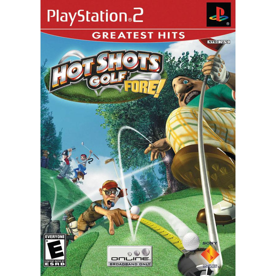 Hot Shots Golf: Fore! (Greatest Hits) - PlayStation 2 (PS2) Game Complete - YourGamingShop.com - Buy, Sell, Trade Video Games Online. 120 Day Warranty. Satisfaction Guaranteed.