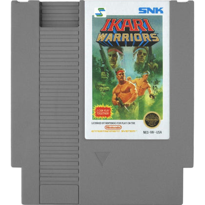 Ikari Warriors - Authentic NES Game Cartridge