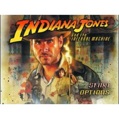 Indiana Jones and the Infernal Machine - Authentic Nintendo 64 (N64) Game Cartridge - YourGamingShop.com - Buy, Sell, Trade Video Games Online. 120 Day Warranty. Satisfaction Guaranteed.