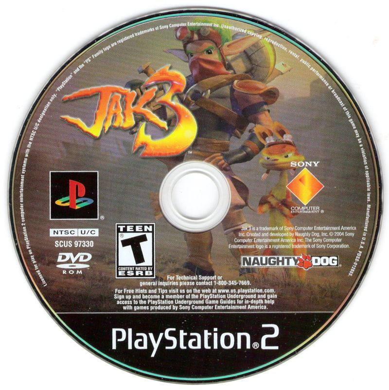 Jak 3 - PlayStation 2 (PS2) Game