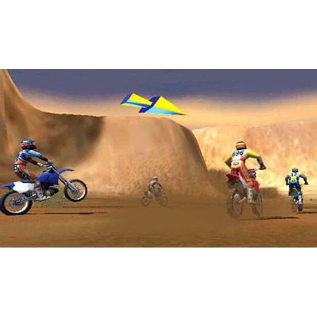 Jeremy McGrath Supercross World - PlayStation 2 (PS2) Game Complete - YourGamingShop.com - Buy, Sell, Trade Video Games Online. 120 Day Warranty. Satisfaction Guaranteed.