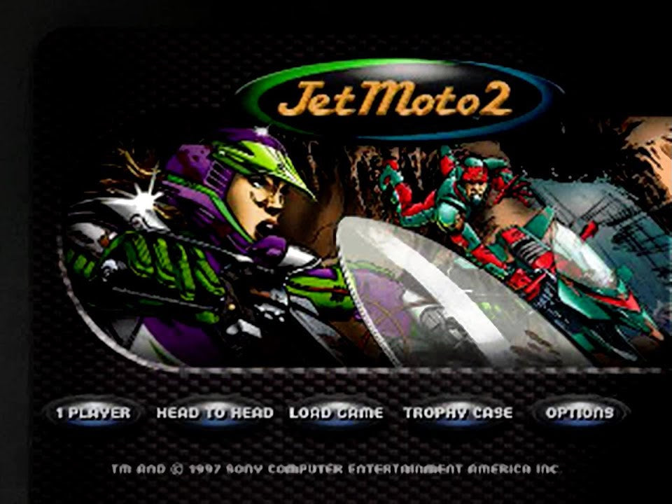 Jet Moto 2 - PlayStation 1 (PS1) Game