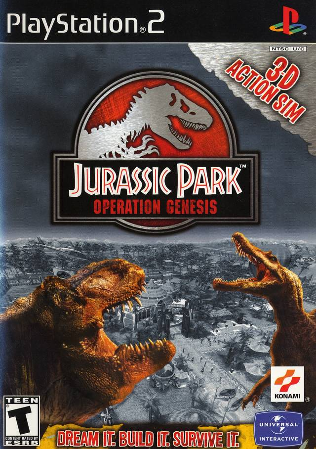 Jurassic Park: Operation Genesis - PlayStation 2 (PS2) Game Complete - YourGamingShop.com - Buy, Sell, Trade Video Games Online. 120 Day Warranty. Satisfaction Guaranteed.