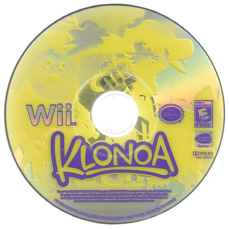 Klonoa - Wii Game Complete - YourGamingShop.com - Buy, Sell, Trade Video Games Online. 120 Day Warranty. Satisfaction Guaranteed.
