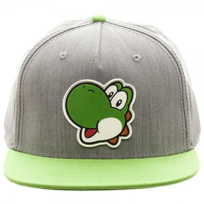 Your Gaming Shop - Nintnedo Yoshi Rubber Sonic Weld Gray/Green Snapback
