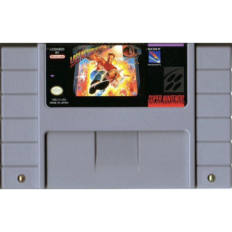 Last Action Hero - Super Nintendo (SNES) Game - YourGamingShop.com - Buy, Sell, Trade Video Games Online. 120 Day Warranty. Satisfaction Guaranteed.
