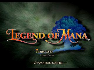 Legend of Mana - PlayStation 1 (PS1) Game