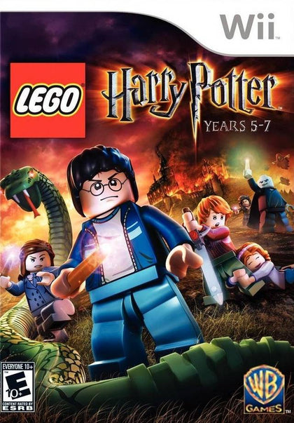 LEGO Harry Potter: Years 5-7 - Nintendo Wii Game