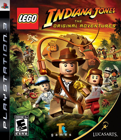 LEGO Indiana Jones: The Original Adventures - PlayStation 3 (PS3) Game
