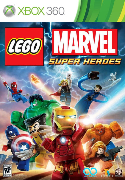 LEGO Marvel Super Heroes - Xbox 360 Game