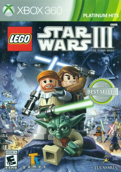 LEGO Star Wars III: The Clone Wars (Platinum Hits) - Xbox 360 Game