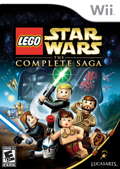 LEGO Star Wars: The Complete Saga - Wii Game