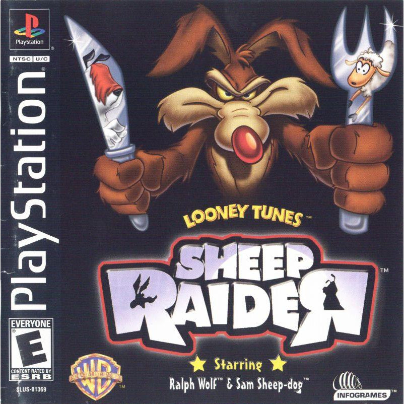 Looney Tunes: Sheep Raider - PlayStation 1 (PS1) Game Complete - YourGamingShop.com - Buy, Sell, Trade Video Games Online. 120 Day Warranty. Satisfaction Guaranteed.