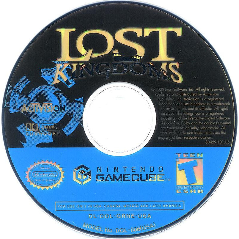 Lost Kingdoms - GameCube Game Complete - YourGamingShop.com - Buy, Sell, Trade Video Games Online. 120 Day Warranty. Satisfaction Guaranteed.