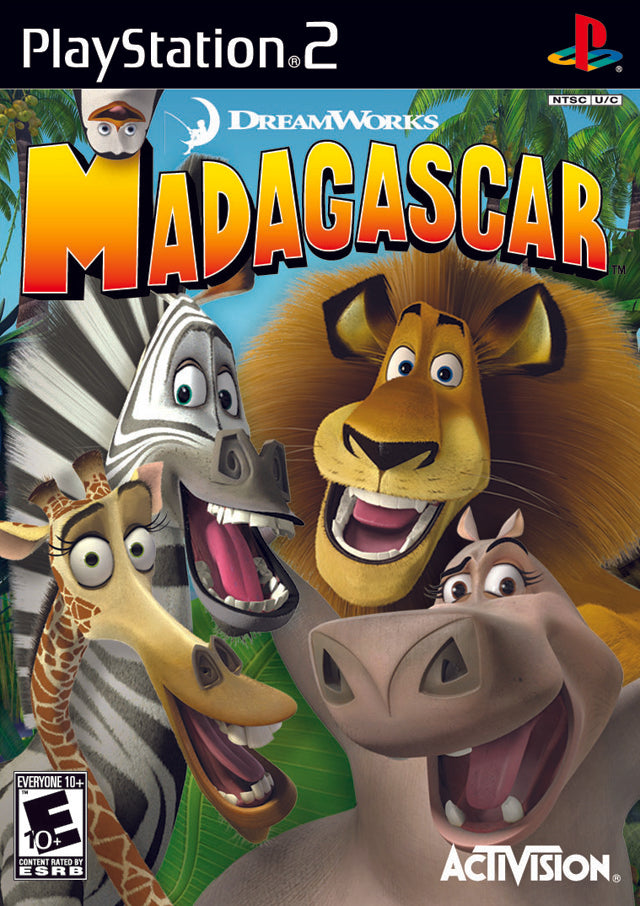 Madagascar - PlayStation 2 (PS2) Game