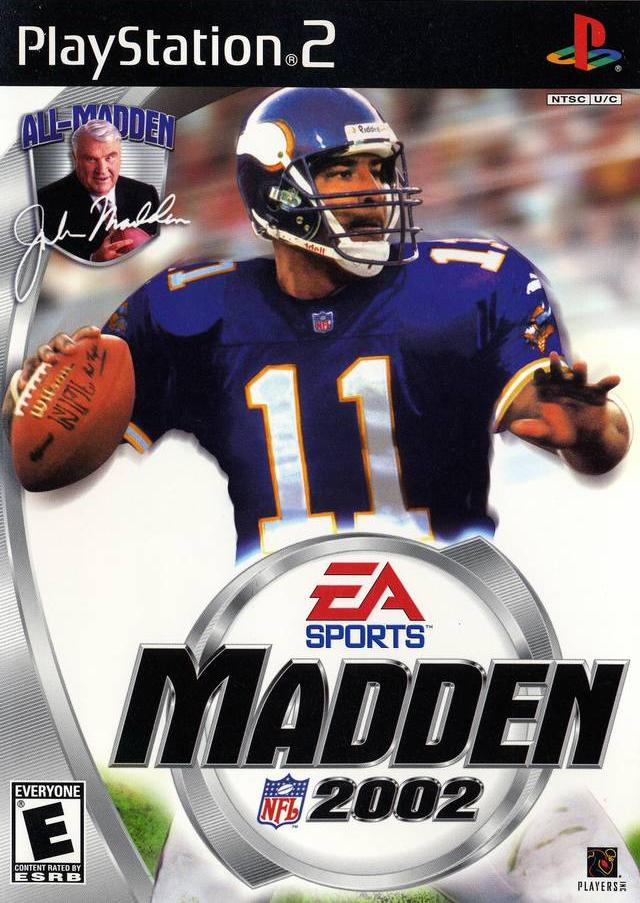 Madden NFL 2002 - PlayStation 2 (PS2) Game