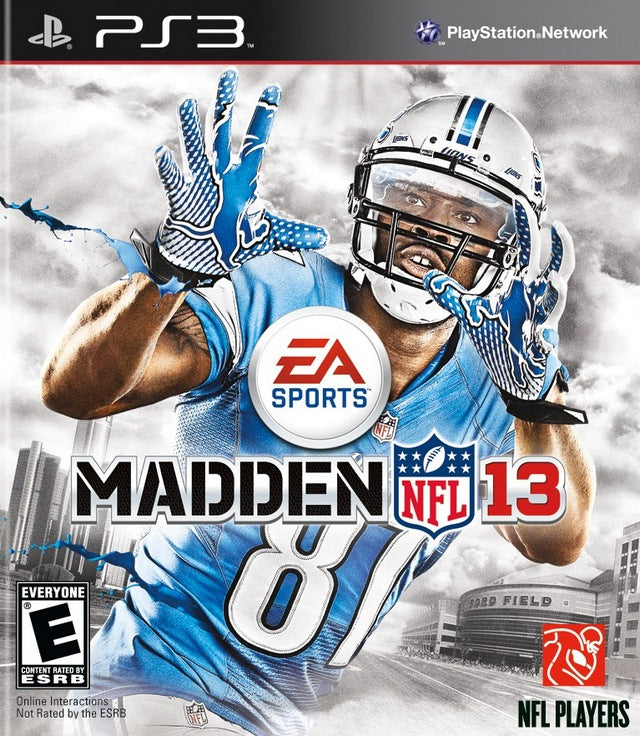 Madden NFL 13 - PlayStation 3 (PS3) Game