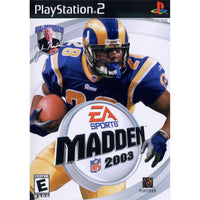 Madden NFL 2003 - PlayStation 2 (PS2) Game