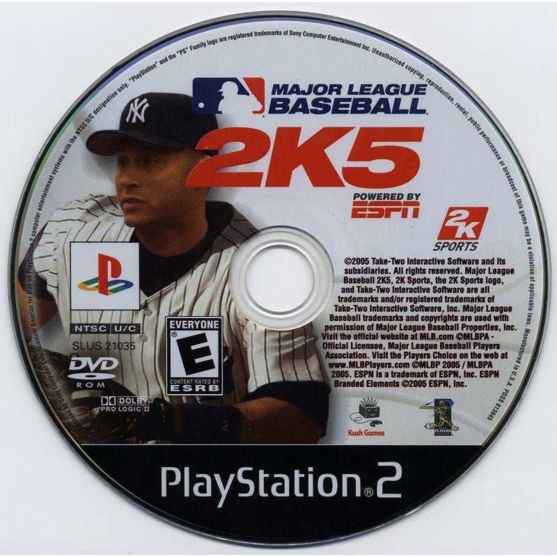 Major League Baseball 2K5 - PlayStation 2 (PS2) Game Complete - YourGamingShop.com - Buy, Sell, Trade Video Games Online. 120 Day Warranty. Satisfaction Guaranteed.