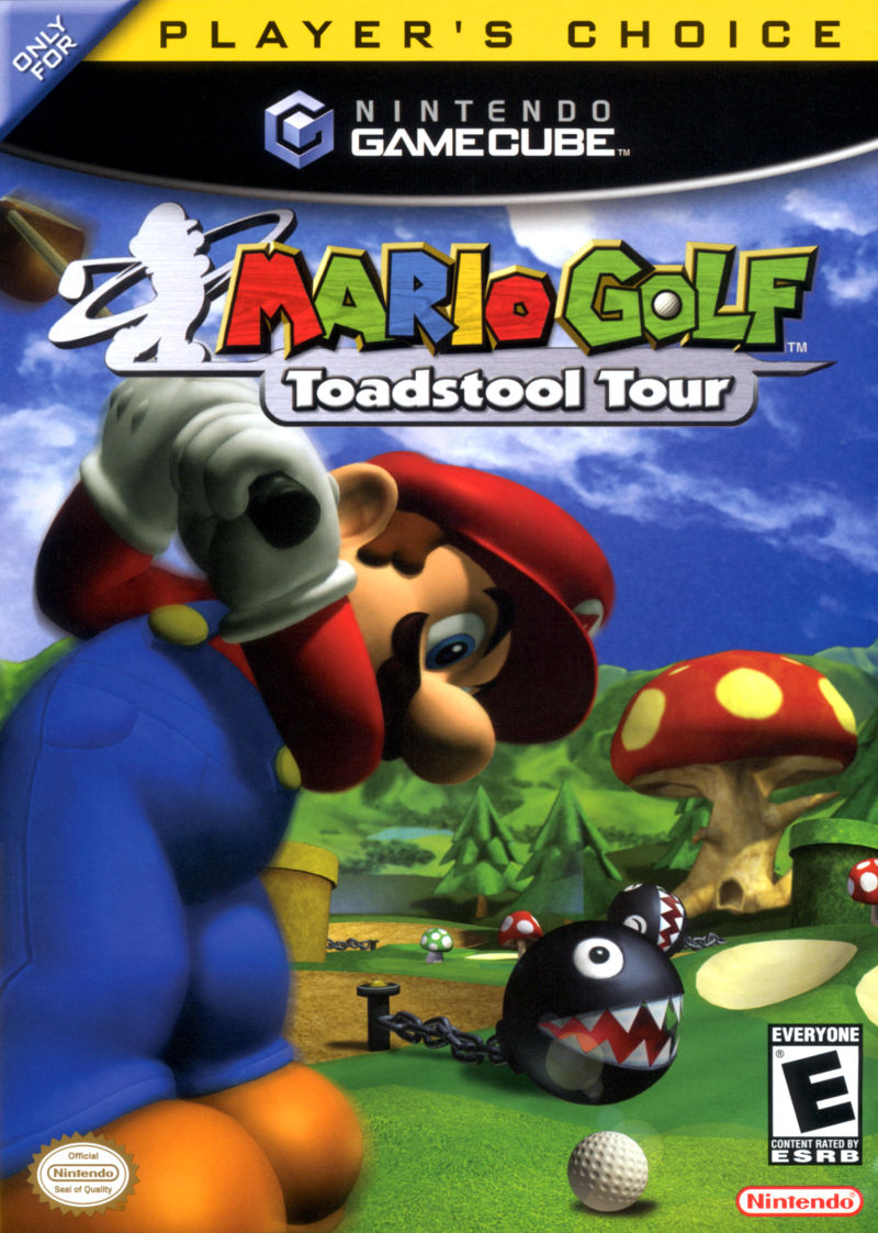 Mario Golf: Toadstool Tour (Player's Choice) - Nintendo GameCube Game
