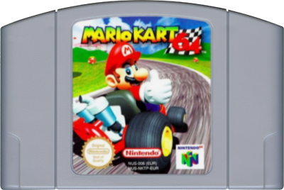 Mario Kart 64 - Authentic Nintendo 64 (N64) Game Cartridge