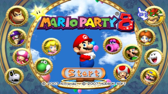 Mario Party 8 - Wii Game Complete