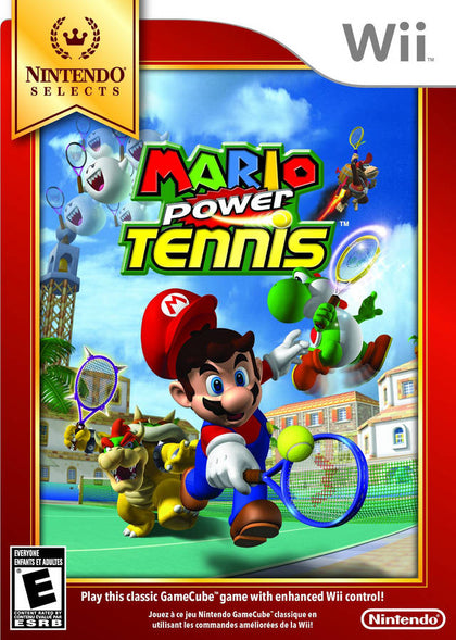 Mario Power Tennis - Nintendo Wii Game
