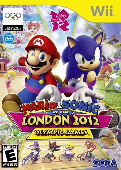 Mario & Sonic at the London 2012 Olympic Games - Nintendo Wii Game