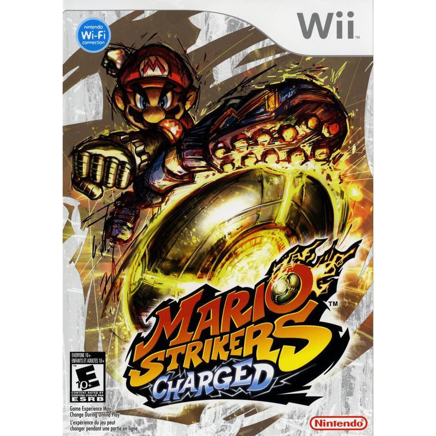 Mario Strikers Charged - Wii Game Complete - YourGamingShop.com - Buy, Sell, Trade Video Games Online. 120 Day Warranty. Satisfaction Guaranteed.