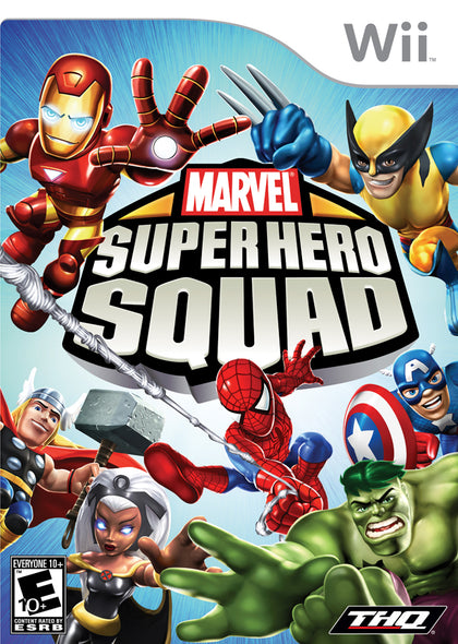 Marvel Super Hero Squad - Nintendo Wii Game
