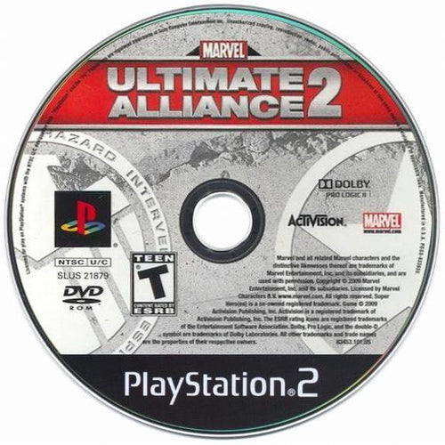 Marvel Ultimate Alliance 2 - PlayStation 2 (PS2) Game Complete - YourGamingShop.com - Buy, Sell, Trade Video Games Online. 120 Day Warranty. Satisfaction Guaranteed.