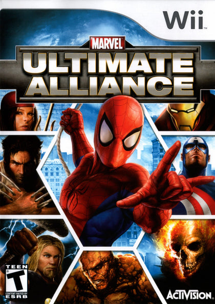 Marvel: Ultimate Alliance - Nintendo Wii Game