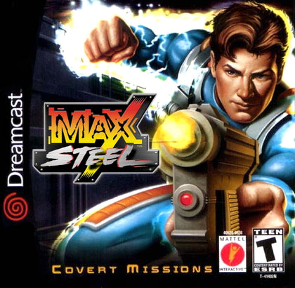 Max Steel: Covert Missions - Sega Dreamcast Game