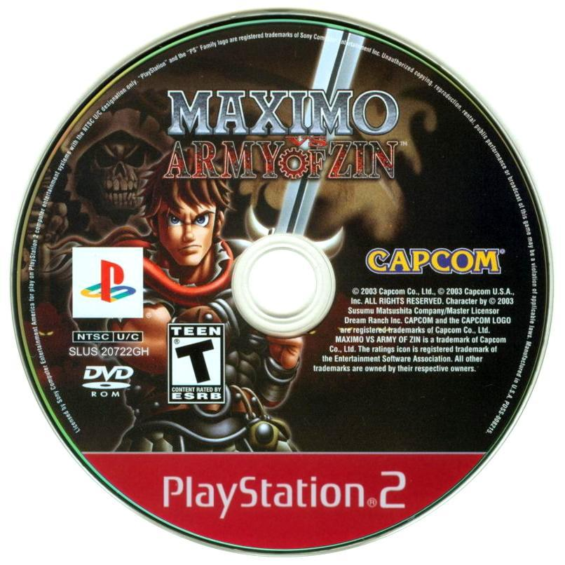 Maximo vs Army of Zin (Greatest Hits) - PlayStation 2 (PS2) Game Complete - YourGamingShop.com - Buy, Sell, Trade Video Games Online. 120 Day Warranty. Satisfaction Guaranteed.