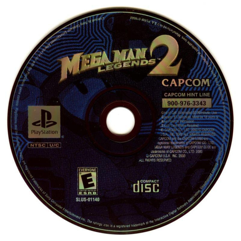 Mega Man Legends 2 - PlayStation 1 PS1 Game Disc - YourGamingShop.com - Buy, Sell, Trade Video Games Online. 120 Day Warranty. Satisfaction Guaranteed.