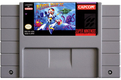 Mega Man X - Super Nintendo (SNES) Game Cartridge