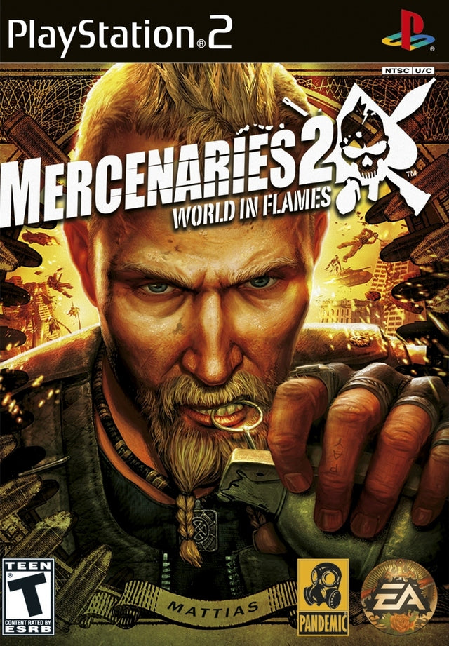 Mercenaries 2: World in Flames - PlayStation 2 (PS2) Game