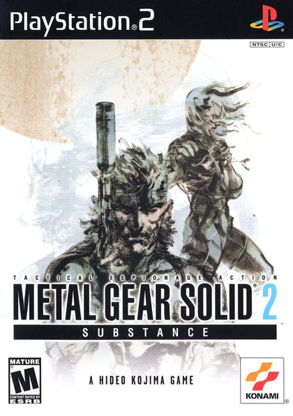 Metal Gear Solid 2: Substance - PlayStation 2 (PS2) Game