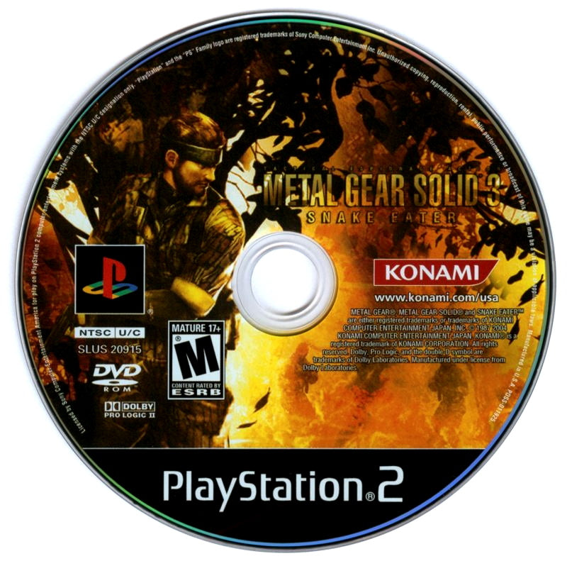 Your Gaming Shop - Metal Gear Solid 3: Snake Eater - PlayStation 2 (PS2) Game