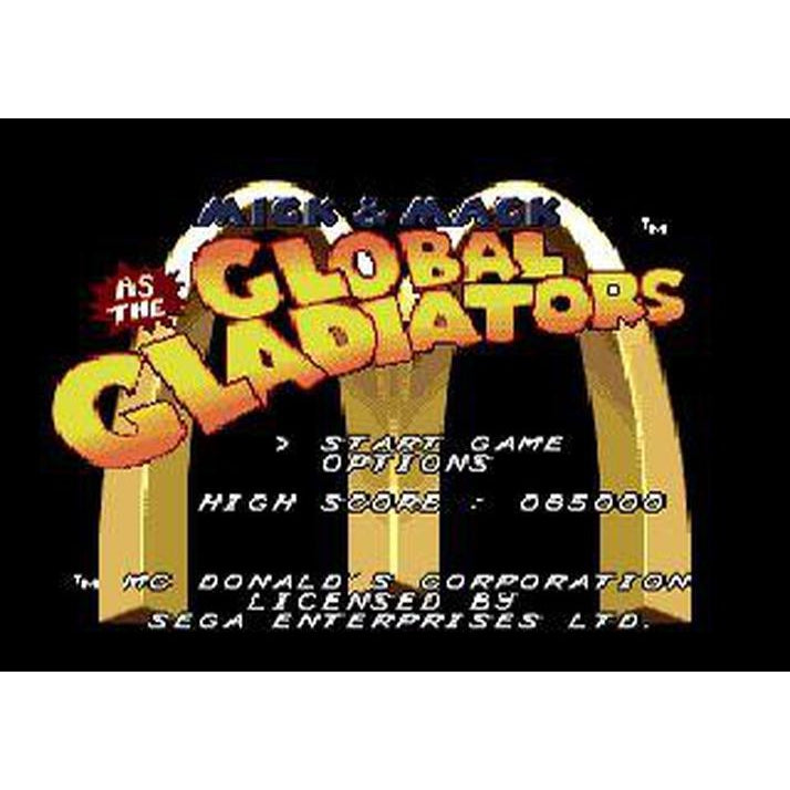 Mick & Mack as the Global Gladiators - Sega Genesis Game Complete - YourGamingShop.com - Buy, Sell, Trade Video Games Online. 120 Day Warranty. Satisfaction Guaranteed.