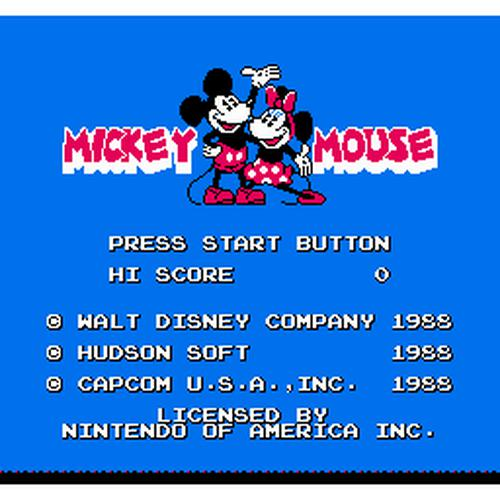 Your Gaming Shop - Mickey Mousecapade - Authentic NES Game Cartridge