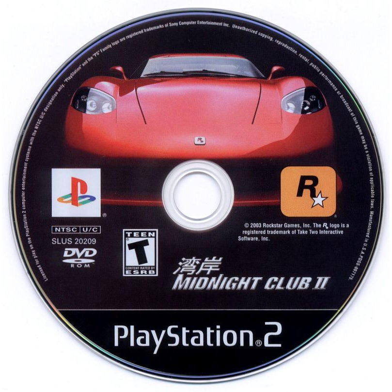 Your Gaming Shop - Midnight Club II - PlayStation 2 (PS2) Game