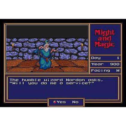 Might and Magic: Gates to Another World - Sega Genesis Game