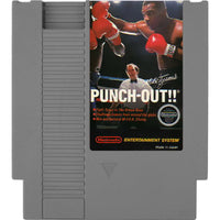 Mike Tyson's Punch-Out!! - Authentic NES Game Cartridge