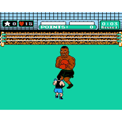 Mike Tyson's Punch-Out!! - Authentic NES Game Cartridge - YourGamingShop.com - Buy, Sell, Trade Video Games Online. 120 Day Warranty. Satisfaction Guaranteed.