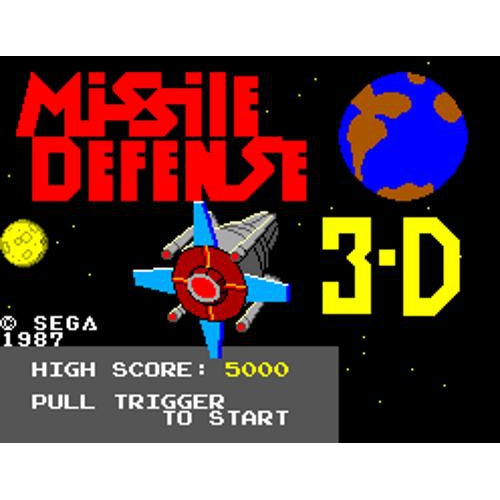 Missile Defense 3-D - Sega Master System Game Complete - YourGamingShop.com - Buy, Sell, Trade Video Games Online. 120 Day Warranty. Satisfaction Guaranteed.