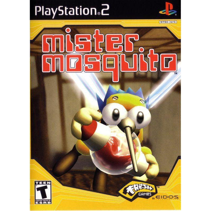 Mister Mosquito - PlayStation 2 (PS2) Game Complete - YourGamingShop.com - Buy, Sell, Trade Video Games Online. 120 Day Warranty. Satisfaction Guaranteed.