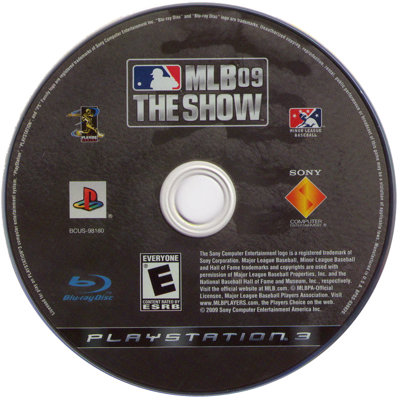 MLB 09: The Show - PlayStation 3 (PS3) Game